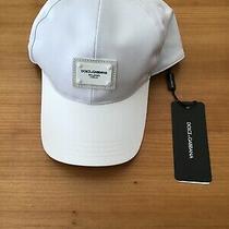 Nwt Dolce & Gabbana Mens Logo Patch Baseball Cap Size 59 (L)  335 Photo