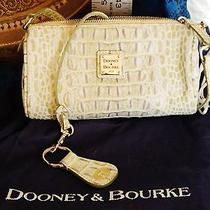 Nwt Dooney and Bourke Immaculate Mock Croc Fashion Colors Photo
