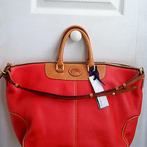 Nwt Dooney & Bourke Dillen Leather Convertible Hobo  Photo
