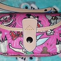 Nwt Dooney & Bourke Disney Pink Mickey Mouse Tinkerbell Disneyland Wristlet Photo