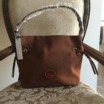 Nwt Dooney & Bourke Nylon Sac Handbag Brown Photo