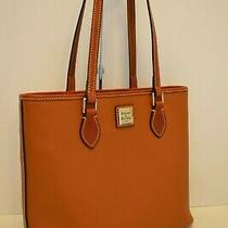 Nwt Dooney & Bourke Pebbled Leather Richmond Shopper/tote in Caramel Photo