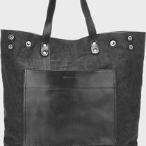 Nwt Dries Van Noten Leather-Trimmed Tote Bag Photo