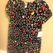 Nwt Dvf for Baby Gap Alphabet Black Dress 5 Photo