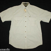 Nwt Eddie Bauer Rufton Twill Shirt Small S Bone White Cream Brand New Outdoor Photo