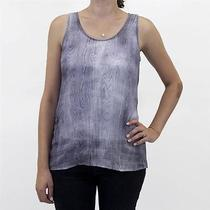 Nwt Eileen Fisher Xl Abstract Shibori Painted Ramie Tank Top Photo