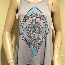 Nwt Element Eden Gray Hamas Print Tank Top M Photo