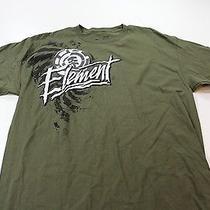Nwt Element Logo Artwork Tee T Shirt Large L  Photo