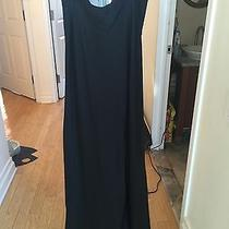 Nwt Elizabeth and James Black Long Silk Skirt Size 6 Must See Detailing Photo