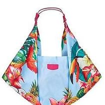 Nwt Escada Born in Paradise Women Parfums Overnight Tote Bag Purse Handbag  Photo