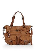 Nwt Escada Sport Light Pastel Brown Leather Handbag Tote Purse Photo