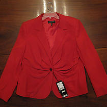 Nwt  Escada Women's Blazer Jacket Lacquer Color Fully Lined  Size 48 Photo
