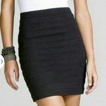 Nwt Express 60 Black Banded Pencil Skirt Size 2 Gorgeous Htf Photo