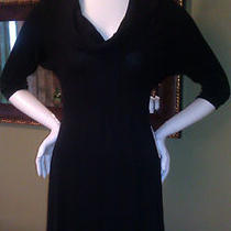 Nwt Express 80 Cowl Neck Black Sweater Dress Size Xs Gorgeous Great Gift Photo