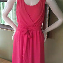 Nwt Express 80 Hi Low Hem Lace Twist Back Dress Coral Size M in Stores Now Photo