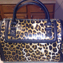 Nwt Express 90 Leopard Satchel Handbag Gorgeous Great Gift Photo