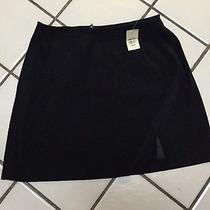 Nwt Express Black Suede-Look Short Skirtsz 13/14msrp 39 Photo