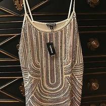 Nwt Express Cami Top Xs Bling Sequins Photo