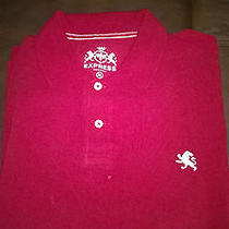 Nwt Express Classic Red Polo Size Xl Photo