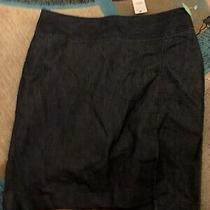 Nwt Express Denim Jean Skirt Size 12 Stretch Photo