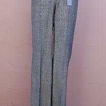Nwt Express Editor Pants Luxury Stretch Size 0 Regular Flare Leg Low Rise Gray Photo