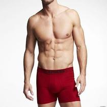 Nwt Express  Knit Boxer Briefs Concord Size Small (28-30) 1418 285 Photo