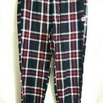 Nwt Express Large Plaid Pajama Bottoms Red/black Photo