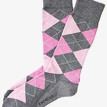 Nwt Express Men's  Argyle Dress Socks Miami 1985 279 07 Photo