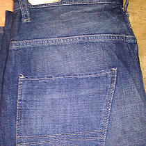 Nwt Express Mens 98 Slouchy Ext Rise Straight Leg Jeans Antique Wash 30x34   Photo