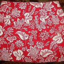 Nwt Express Mini Floral Skirt Size 1 / 2 in Red and White With Pockets  Photo