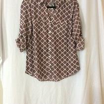 Nwt Express Portofino Shirt Blouse Top - S (Measurement in Pic) Photo