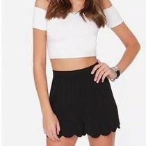 Nwt Express Scallop Hem Shorts Size Xs Photo
