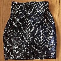 Nwt Express Sequin Mini Skirt Xsmall  Photo