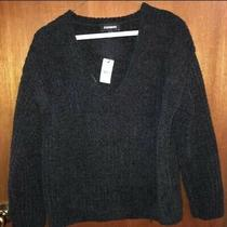 Nwt Express Soft v Neck Sweater Size Xs Photo