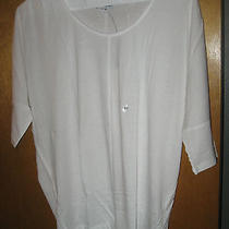 Nwt Express White Solid Dolman Top Xtra Small Photo