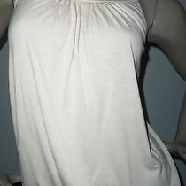 Nwt Express Wm's/jr's Sz Xs Tan W/shear Lace Back Top Retail 39.90 Photo