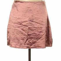 Nwt Express Women Pink Casual Skirt 10 Photo