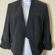 Nwt Express Women Size 12 Black Suit Jacket Blazer Msrp 108 Photo