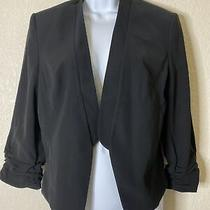 Nwt Express Women Size 12 Black Suit Jacket Blazer Msrp 108 Photo