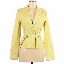 Nwt Express Women Yellow Blazer 8 Photo