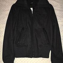 Nwt Express Wool Bomber Jacket- Small 118  Photo