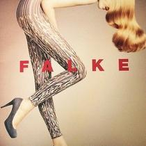 Nwt Falke Vogue Leggings M/l Dark Blue Photo