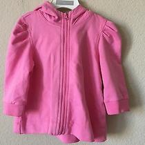 Nwt First Impressions Rose Bloom Striped Lined Hoodie Toddler Girls' Jacket 18m Photo
