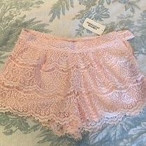 Nwt Forever 21 Blush Pink Lace Shorts Size S Photo