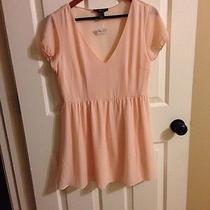 Nwt Forever 21 Classic Vintage Dress Blush  M Photo