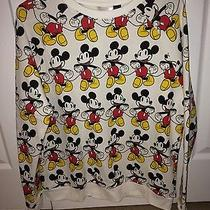 Nwt Forever 21 Mickey Mouse Sweater Size Medium Photo