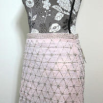 Nwt Forever 21 Sexy Mini Blush Embelished Skirt Size S Casual Polyester Photo