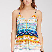 Nwt Forever 21 Southwestern Tribal Cami Top Lulu's Asos Style Xl  Photo