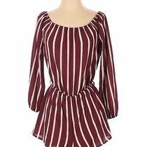 Nwt Forever 21 Women Red Romper M Photo