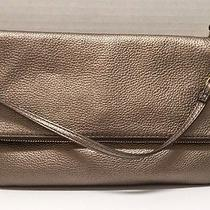 Nwt Fossil Erin Foldover Clutch Metallic 148 Photo
